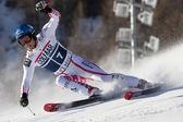 FRA: Alpine skiing Val D'Isere men's GS. RAICH Benjamin. — Stock Photo