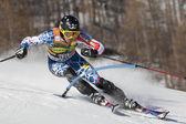 FRA: Alpine skiing Val D'Isere men's slalom. CHODOUNSKY David. — Stock Photo