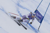 FRA: Alpine skiing Val D'Isere Super Combined. Lindsey Vonn . — Stock Photo