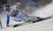 FRA: Alpine skiing Val D'Isere men's GS. MOELGG Manfred. — Stock Photo