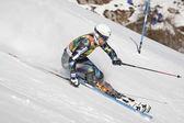 FRA: Alpine skiing Val D'Isere men's slalom. MYHRE Lars. — Stock Photo