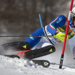 FRA: Alpine skiing Val D'Isere men's slalom. GROSS Stefano. — Stock Photo