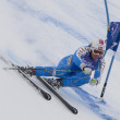 FRA: Alpine skiing Val D'Isere Super Combined. Anja Paerson. — Stock Photo