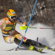 FRA: Alpine skiing Val D'Isere men's slalom. COUSINEAU Julien. — Stock Photo