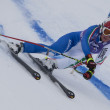 FRA: Alpine skiing Val D'Isere Super Combined. Daniela Merighetti. — Stock Photo