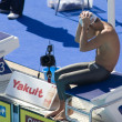 SWM: World Aquatics Championship - mens 200m butterfly. Aaron Peirsol. — Stock Photo