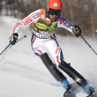 Stock Photo: FRA: Alpine skiing Val D'Isere men's slalom. OBERT Anthony.