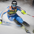FRA: Alpine skiing Val D'Isere men's slalom.  LARSSON Markus. — Stock Photo