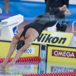 SWM: World Aquatics Championship - Mens 100m butterfly final. Michael Phelps. — Stock Photo