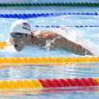 SWM: World Aquatics Championship - Mens 200m butterfly qualifier. Michael Phelps. — Stock Photo