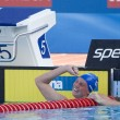 Постер, плакат: SWM: World Aquatics Championship Womens 100m backstroke final Gemma Spofforth