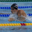 SWM: World Aquatics Championship - Mens 4 x 100m medley final.  Eric Shanteau. — Stock Photo