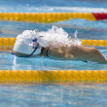 Постер, плакат: SWM: World Aquatics Championship Womens 400m individual medley Elizabeth Beisel