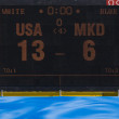 WPO: USv Macedonia, 13th World Aquatics championships Rome 09 — Stock Photo #29113093