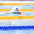 SWM: World Aquatics Championship - Womens 100m breaststroke. Casey Carlson. — Stock Photo