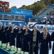 WPO: World Aquatics Championship - USA vs Croatia. — Stock Photo