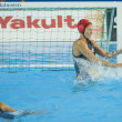 WPO: World Aquatic Championships - USA vs Greece. Elizabeth Armstrong. — 图库照片