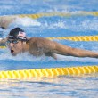 SWM: World Aquatics Championship - Mens 200m butterfly final. Michael Phelps. — Stock Photo
