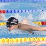 Постер, плакат: SWM: World Aquatics Championship Womens 200m individual medley Ariana Kukors