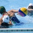 WPO: World Aquatics championship - CAN vs RSA. Joelle Bezhaki. — 图库照片