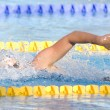 SWM: World Aquatics Championship - Womens 200m freestyle final. Federica Pellegrini. — Stock Photo