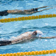 SWM: World Aquatics Championship - mens 200m butterfly. Ryan Lochte. — Stock Photo