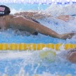 SWM: World Aquatics Championship - Womens 100m butterfly final. Dana Vollmer. — Stock Photo