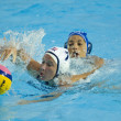 WPO: World Aquatic Championships - USA vs Greece.  Kelly Rulon. — Zdjęcie stockowe