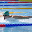 SWM: World Aquatics Championship - Mens 200m butterfly qualifier. Dinko Jukic. — Stock Photo