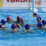 WPO: World Aquatics Championship - USA vs Croatia — Stock Photo