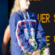 SWM: World Aquatics Championship - Ceremony womens 200m freestyle — Stock Photo