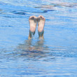 SWM: Final Solo Synchronised Swimming — Stock Photo