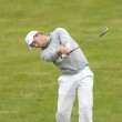 Постер, плакат: Floris De Vries NED in action on the second day of the European Tour
