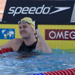 SWM: World Aquatics Championship - Mens 100m breaststroke final. Brenton Rickard — Stock Photo #29116129