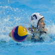 WPO: World Aquatic Championships - USA vs Greece — Stock Photo