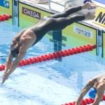 Постер, плакат: SWM: World Aquatics Championship mens 200m breaststroke Maxim Podoprigora