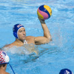 WPO: World Aquatics Championship - USA vs Croatia. Peter Varellas — Stock Photo #29116583
