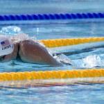 Постер, плакат: SWM: World Aquatics Championship mens 400 individual medley Ryan Lochte