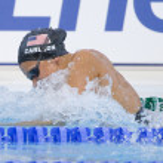 Постер, плакат: SWM: World Aquatics Championship Womens 100m breaststroke fina Kasey Carlson