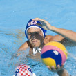 WPO: World Aquatics Championship - USA vs Croatia. Timothy Hutten. Andro Buslje — Stock Photo