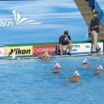 Постер, плакат: WPO: USA v Macedonia 13th World Aquatics championships Rome 09