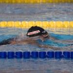 Постер, плакат: SWM: World Aquatics Championship mens 400m individual medley Ryan Lochte