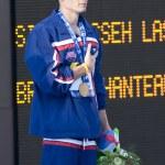 Постер, плакат: SWM: World Aquatics Championship Mens 200m individual medley Eric Shanteau