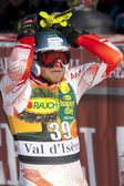 FRA: Alpine skiing Val D'Isere men's slalom. PALANDER Kalle. — Stock Photo