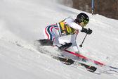 FRA: Alpine skiing Val D'Isere men's slalom. MISSILLIER Steve. — Stock Photo