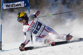 FRA: Alpine skiing Val D'Isere men's GS. HIRSCHER Marcel. — Stock Photo