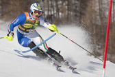 FRA: Alpine skiing Val D'Isere men's slalom — Stock Photo
