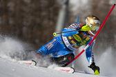 FRA: Alpine skiing Val D'Isere men's slalom — Stockfoto