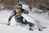 FRA: Alpine skiing Val D'Isere men's slalom — Stock Photo