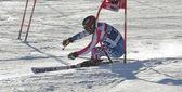 FRA: Alpine skiing Val D'Isere men's GS. NICKERSON Warner. — Stock Photo